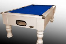 Gloss White Pool Table