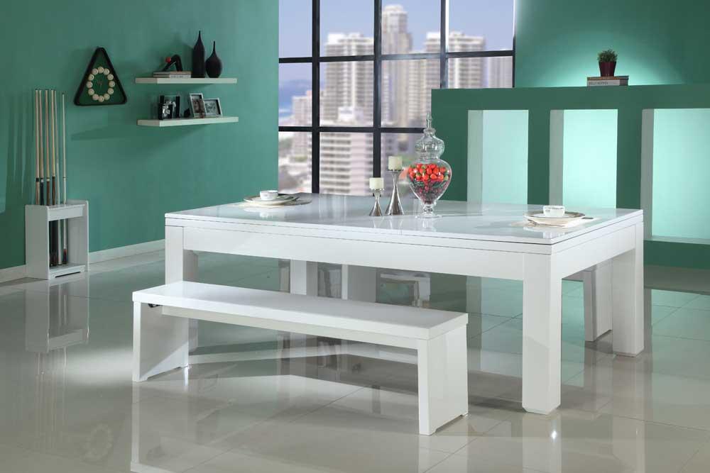 pool dining table uk costco gloss white ebay