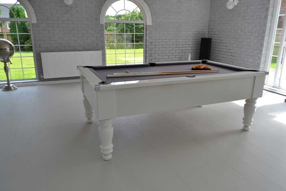 Gloss White Pool Table